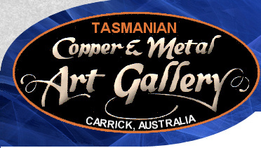 Tasmanian Copper Metal Art